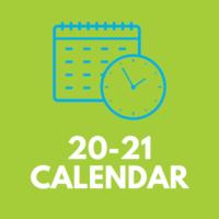 20-21 Calendar Icon